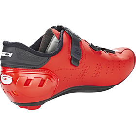 Sidi Ergo 5 Carbon Shoes Herre matt red/black
